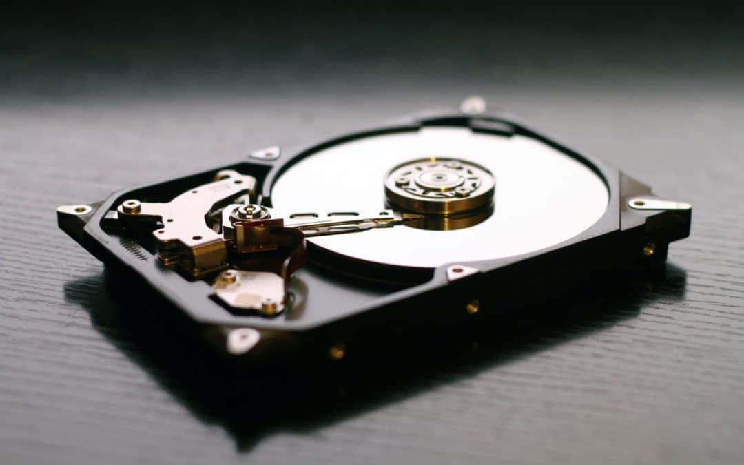 Harddisk recovery